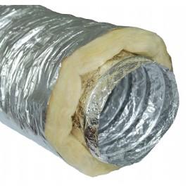 Przewód izolowany miekki ALU/PVC 125mm 5m