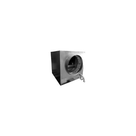 750m3/h WENTYLATOR RADIALNY, STALOWY WYCISZANY SOFTBOX, 35x35xh35cm, 2800rpm