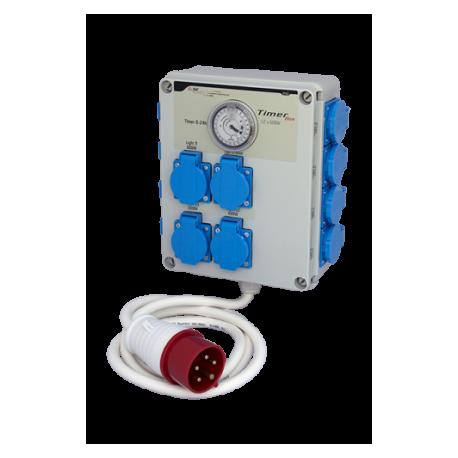 TIMERBOX 12x600W, 24h/30min, 3-FAZ. 380V/230V