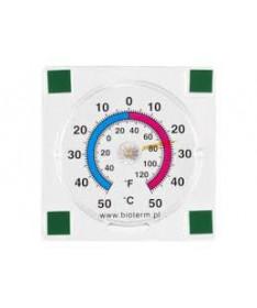 Termometr i higrometr przyklejany 90x90mm