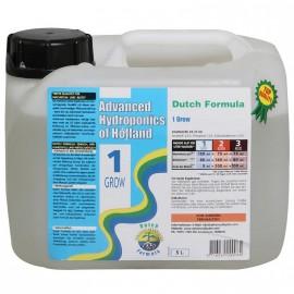 DUTCH FORMULA 1 GROW 5L NAWÓZ NA WZROST - ADVANCED HYDROPONICS OF HOLLAND