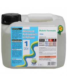 DUTCH FORMULA 1 GROW 5L NAWÓZ NA WZROST - ADVANCED HYDROPONICS OF HOLLAND