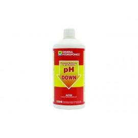 GHE pH DOWN MINUS 500ML