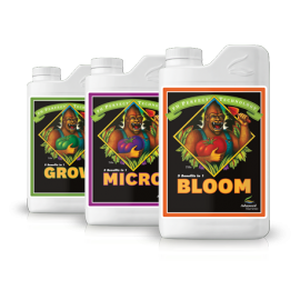 Zestaw Advanced Nutrients Grow Micro Bloom 3 x 10l