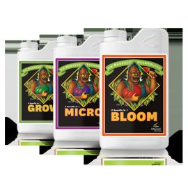 Zestaw Advanced Nutrients 3 x 1l Grow Micro Bloom