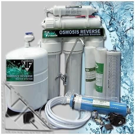 System odwróconej osmozy RO-5+1 H2o, 75gdp, 250l/24h