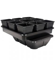 Plant!t Atlas Large 18 System Hydroponiczny, Pot Dripper System, 9 rośliny