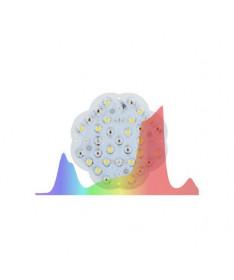 LuckyGrow Lampa LED Modular 110W/55W + 2 soczewki kąt 120 (GROW i BLOOM)
