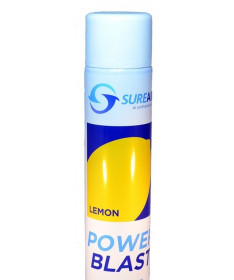 Neutralizator zapachu Sureair Power Blasts spray cytryna - 500ml