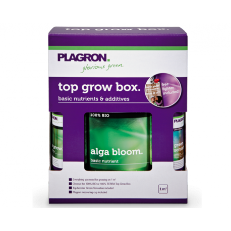 PLAGRON ZESTAW NAWOZÓW ALGA GROW BOX