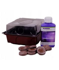 PLAGRON SEEDBOX, Seed Booster 250ml + 12 podkładek stymulujących kiełkowanie