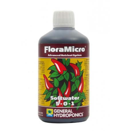GHE Flora Mikro woda miękka 500ml