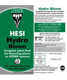 Hesi Hydro Bloom 1l - Nawóz na fazę kwitnienia hydroponika
