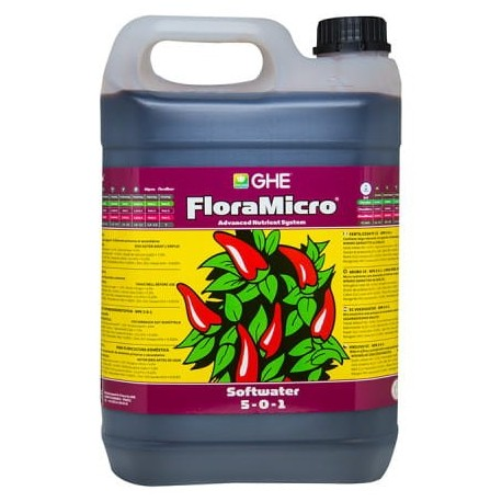 GHE Flora Mikro woda miękka 10l