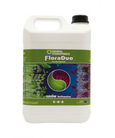 GHE Flora DUO Grow woda miękka 5l