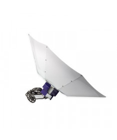Lumatek Odbłyśnik Paraboliczny Turrican WHITE 100cm