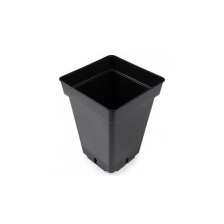 Doniczka plastikowa kwadratowa 17.5cm x 17.5cm x 25cm - 6l